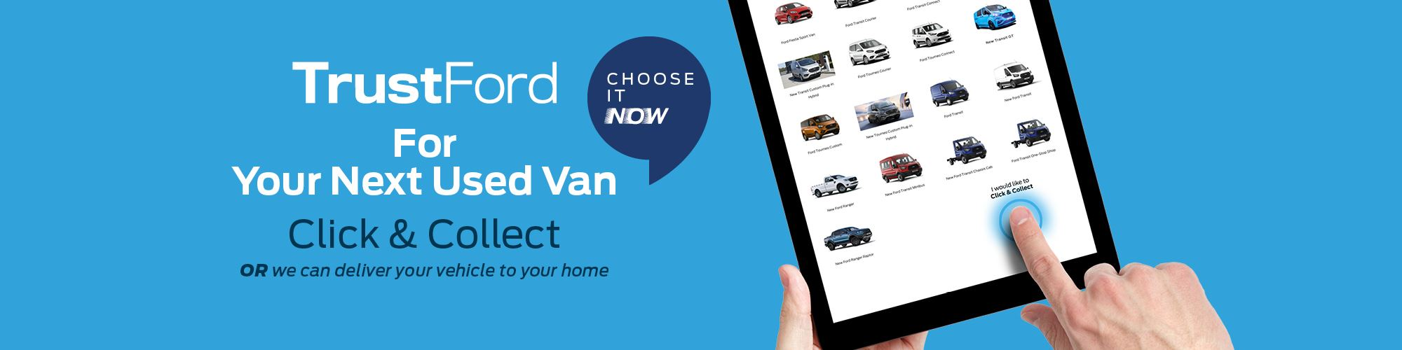 Choose Now with Click and Collect
