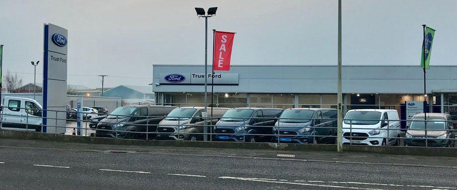 Ford Dealer Locator >> Trustford Find A Transit Centre Dealer Near You